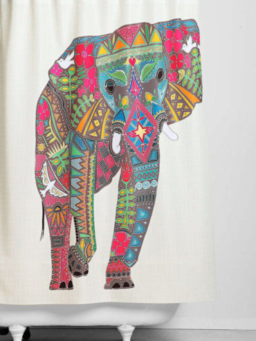Elephan Shower Curtain
