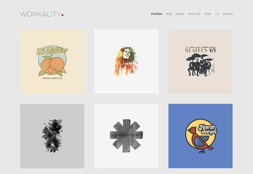 Workality Plus Demo : Portfolio